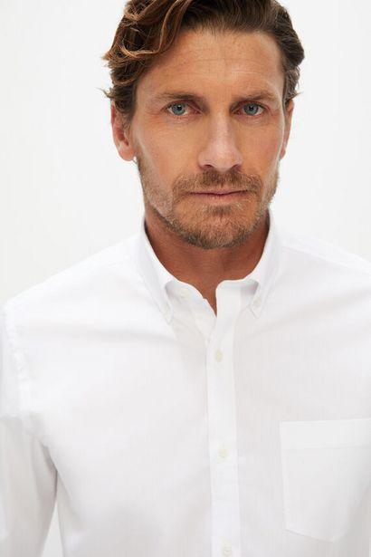 Oferta de Camisa lisa coolmax eco-made stretch por 14,99€