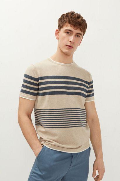 Oferta de Camiseta punto rayas por 17,99€