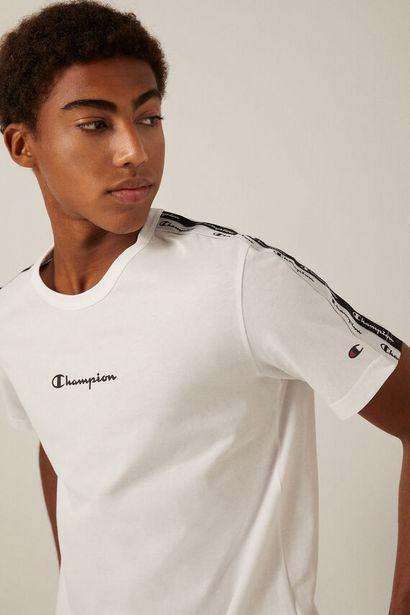 Oferta de Camiseta hombros Champion blanca por 20,93€