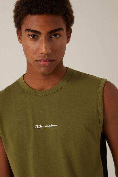 Oferta de Camiseta sin mangas Champion verde por 16,1€