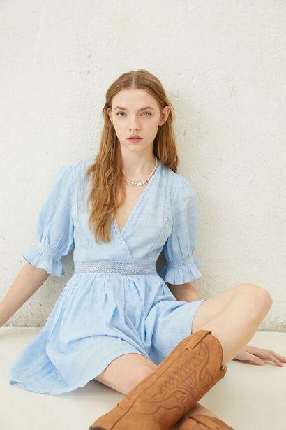 Oferta de Vestido azul lace por 34,99€