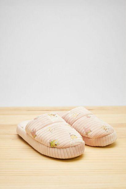 Oferta de Zapatillas destalonadas rosa Bob Esponja por 12,99€
