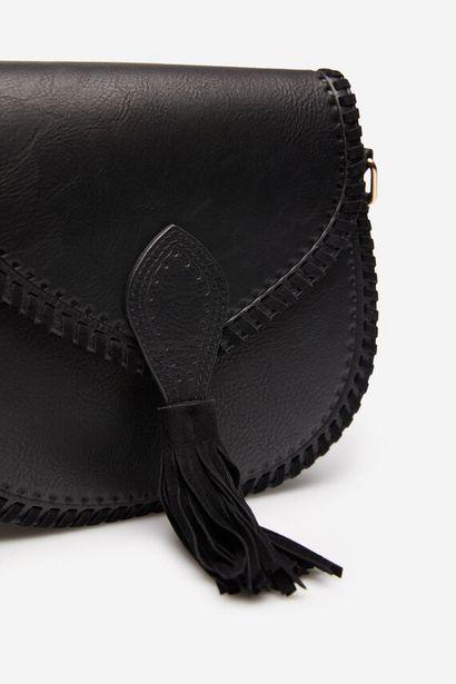 Oferta de Bolso saddle pespuntes por 9,99€