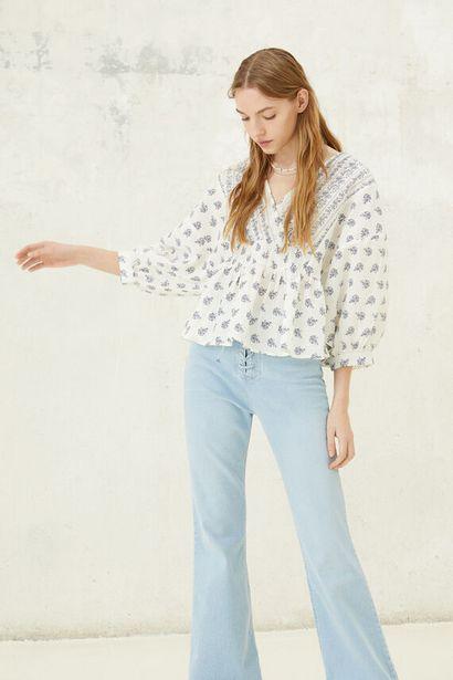 Oferta de Blusa estampada por 12,99€