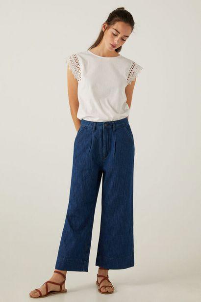 Oferta de Jeans culotte ligeros por 15,99€