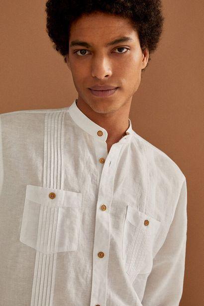 Oferta de Camisa lino mao por 12,99€