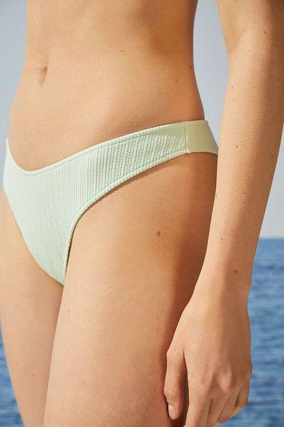 Oferta de Braga bikini brasileña canalé verde mint por 4,99€
