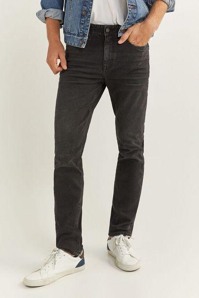 Oferta de Jeans slim negros por 19,99€