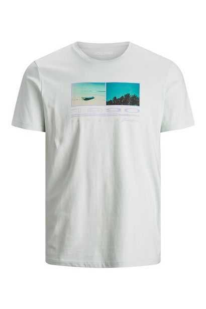 Oferta de Camiseta estampado texto por 9,09€