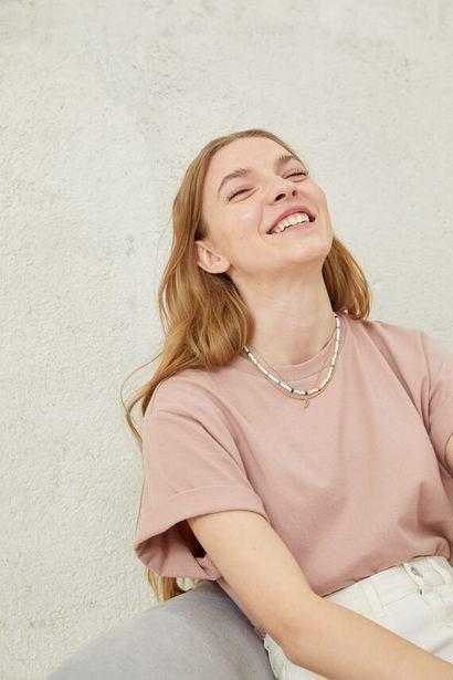 Oferta de Camiseta básica algodón orgánico por 12,99€