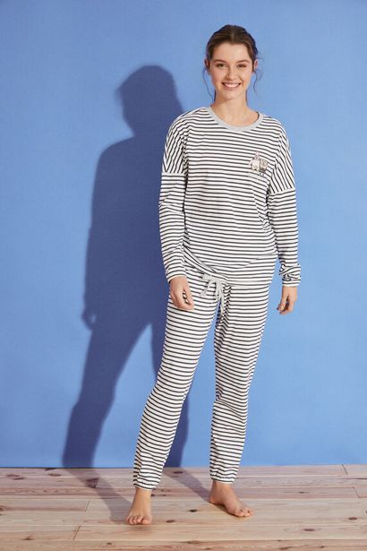 Oferta de Pijama largo rayas Bob Esponja 100% algodón por 17,99€