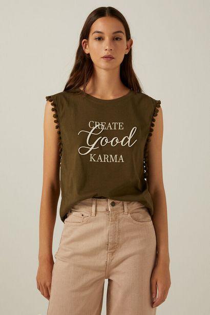 "Oferta de Camiseta ""Create good karma"" por 3,99€"