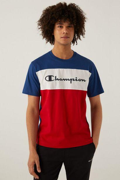 Oferta de Camiseta color block logo por 15€