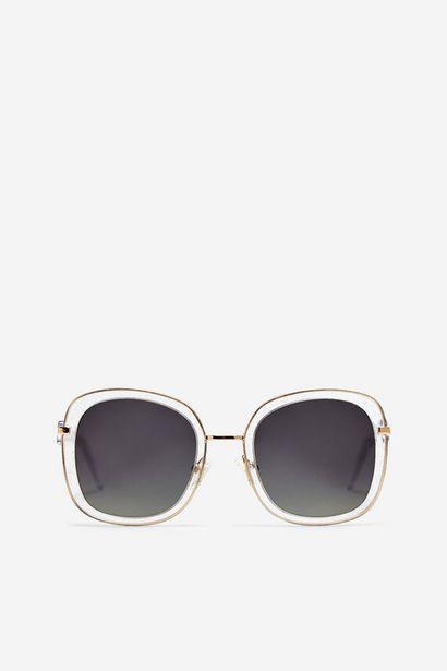Oferta de Gafas de sol Glitter Valeria Mazza transparente por 55,93€