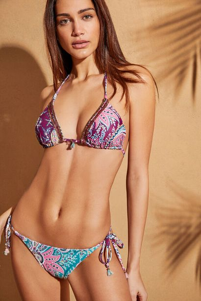 Oferta de Braga bikini pasley reversible tiras y lazadas por 13,99€