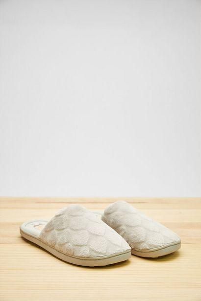 Oferta de Zapatillas destalonadas gris Bob Esponja por 9,99€