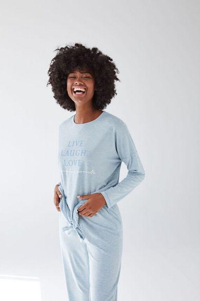Oferta de Pijama largo verde por 15,99€