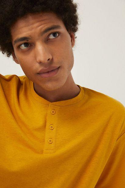 Oferta de Camiseta lino por 7,99€