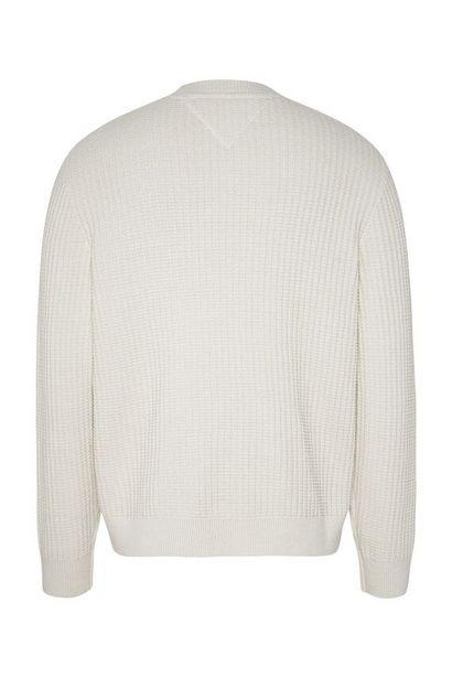 Oferta de Jersey de punto de cuello redondo con logo bordado por 66,43€