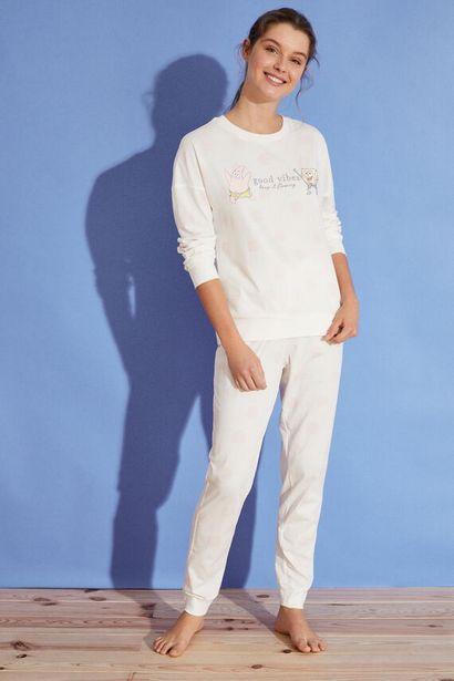 Oferta de Pijama largo topos Bob Esponja 100% algodón por 17,99€