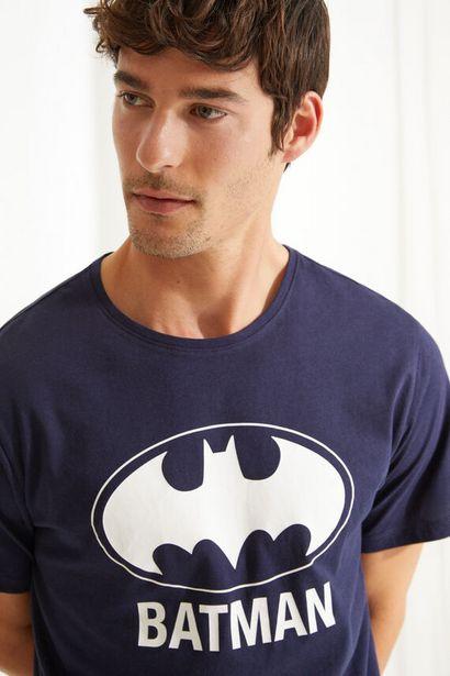 Oferta de Pijama corto de manga corta Batman azul por 13,99€