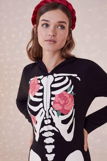 Oferta de Mono esqueleto algodón por 29,99€