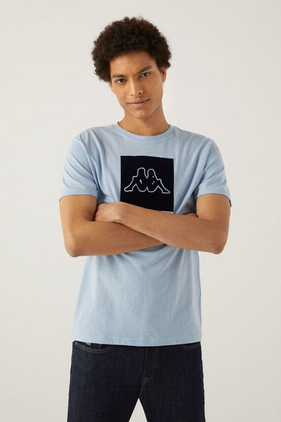 Oferta de T-shirt logo kappa por 13,2€