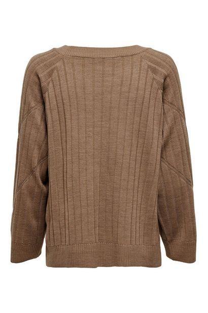 Oferta de Jersey manga larga y cuello redondo por 20,99€
