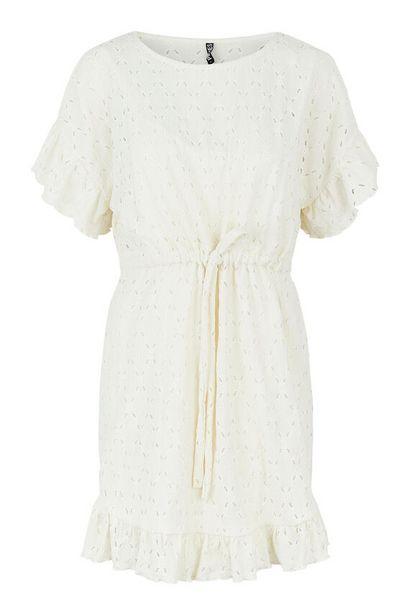 Oferta de Vestido bordado perforado por 24,99€