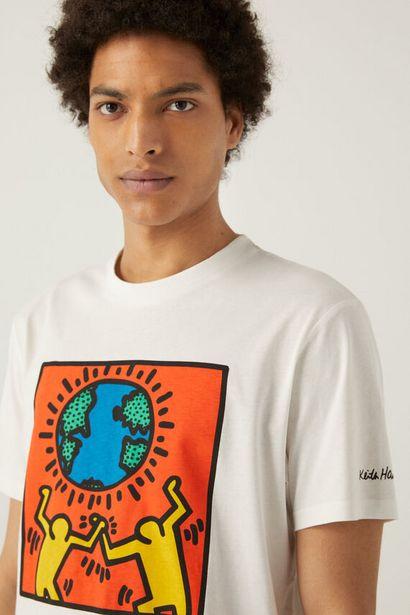 Oferta de Camiseta Keith Haring por 14,99€