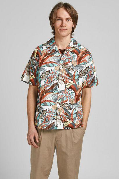 Oferta de Camisa manga corta estampada por 27,99€