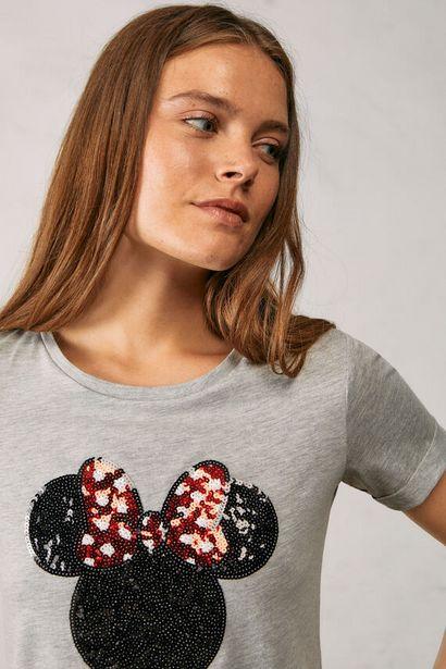 Oferta de Camiseta Minnie lentejuelas Reconsider por 10,99€
