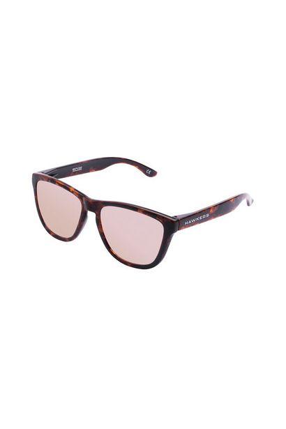 Oferta de Gafas montura en estampado havana y lentes de espejo por 24,49€