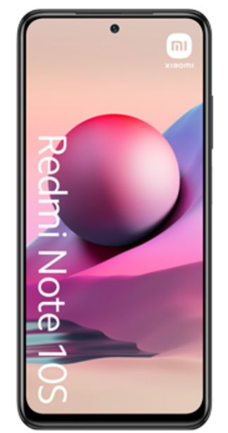 Oferta de Xiaomi Redmi Note 10S Gris por 229€