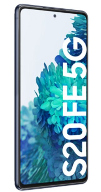 Oferta de Samsung Galaxy S20 Fe 5G Azul por 519€