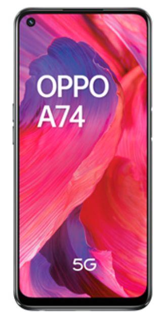 Oferta de Oppo A74 5G Negro por 229€