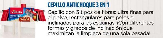 Oferta de Cepillo antichoque 3 en 1 Vileda por