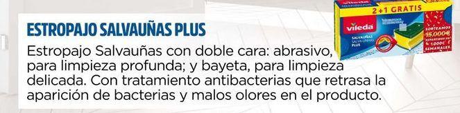 Oferta de Estropajo salvauñas plus VILEDA por