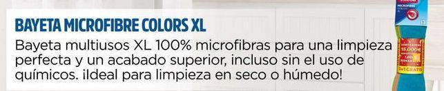 Oferta de Bayeta microfibra colors XL Vileda por