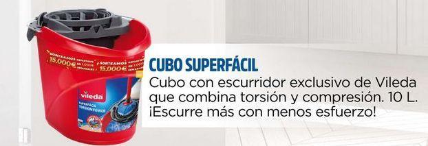 Oferta de Cubo con escurridor exclusivo de Vileda que cambia torsión y compresion.  por
