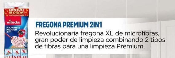 Oferta de Fregona XL de microfibras, gran poder de limpieza combinado 2 tipos de fibras para una limpieza Premium  Vileda por