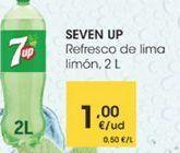 Oferta de Refresco de lima limon, 2L por 1€