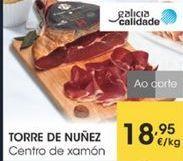 Oferta de Centro de xamón por 18,95€