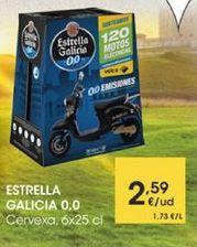 Oferta de Cervexa, 6x25cl por 2,59€