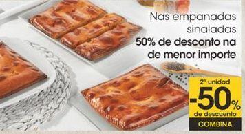 Oferta de Nas empanadas sinaladas por