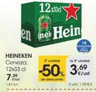 Oferta de Cerveza 12x33cl por 1,39€