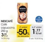 Oferta de Café capuccino, 250g por 3,55€