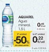 Oferta de Agua mineral, 1,5L por 0,45€