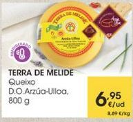 Oferta de Queixo D.O.Arzua Ulloa, 800g por 6,95€