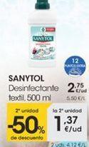 Oferta de Desinfectante textil, 500ml por 2,75€